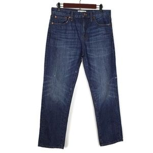 Madewell Crop Straight Leg Jeans Size 29